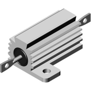 Résistance de puissance à radiateur de 5W à 250W